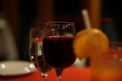Taza de Maldivas de vino Imágenes de archivo libres de regalías
