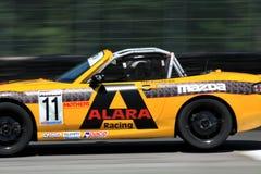 Taza de Mazda MX-5 del playboy de SCCA Foto de archivo