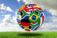 Taza de mundo 2010 Imagen de archivo libre de regalías