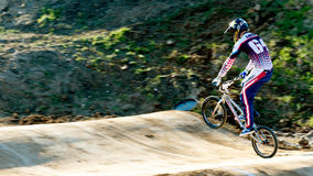 Taza de MUNDO de BMX 2011 Foto de archivo libre de regalías