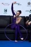 TAZA de MUNDO gimnástica rítmica del HIGO PESARO 2009 Fotografía de archivo