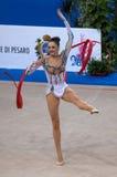 TAZA de MUNDO gimnástica rítmica del HIGO PESARO 2009 Fotos de archivo libres de regalías