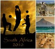 Taza de mundo Suráfrica 2010 Imágenes de archivo libres de regalías