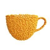 Taza de naranjas Imagenes de archivo