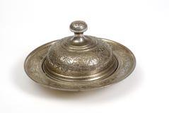 Taza de plata Imagen de archivo