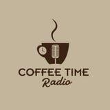 taza de radio del tiempo stock de ilustración