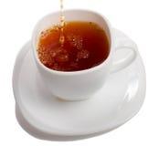 Taza de relleno de té de los rooibos Fotografía de archivo