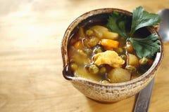 Taza de sopa Foto de archivo libre de regalías