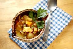 Taza de sopa Imagenes de archivo