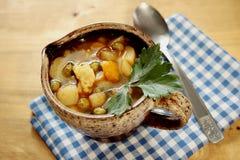 Taza de sopa Imagen de archivo