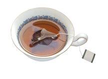 Taza de té aislada imagenes de archivo
