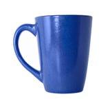 Taza de té azul Fotografía de archivo
