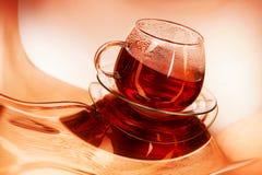 Taza de té caliente Foto de archivo libre de regalías