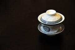 Taza de té china fotografía de archivo