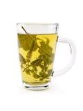 Taza de té de Melissa Foto de archivo