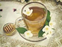 Taza de té del vintage Imagen de archivo