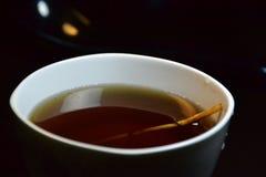 Taza de té herbario Foto de archivo libre de regalías