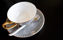 Taza de té hermosa Fotos de archivo libres de regalías