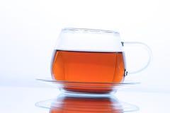Taza de té negro Imagen de archivo libre de regalías