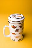 Taza de té oriental Foto de archivo