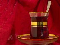 Taza de té turca Imagen de archivo