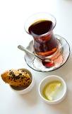 Taza de té turco Imagen de archivo libre de regalías