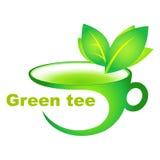 Taza de té verde Foto de archivo libre de regalías