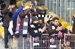 Taza de Ucrania: FC Dynamo Kyiv v Zorya Luhansk en Kiev Imagenes de archivo