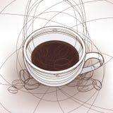 Taza del café Fotografía de archivo libre de regalías