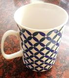Taza del café con leche fotografía de archivo libre de regalías