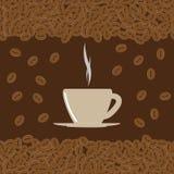 Taza del café con leche Imágenes de archivo libres de regalías