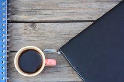 Taza del café con leche Fotos de archivo