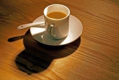 Taza del café express Foto de archivo
