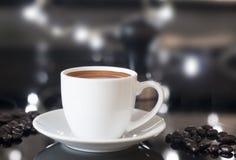 Taza del café express Fotografía de archivo libre de regalías