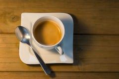 Taza del café express Imagen de archivo