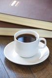 Taza del café sólo fotografía de archivo libre de regalías