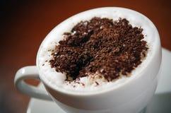 Taza del Cappuccino imagen de archivo libre de regalías