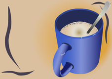 Taza del Cappuccino libre illustration