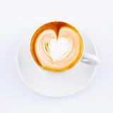 Taza del Cappuccino Fotografía de archivo libre de regalías