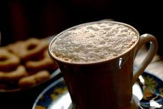 Taza del Cappuccino imagenes de archivo
