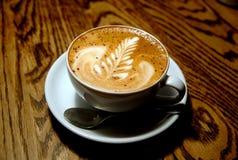 Taza del Cappuccino foto de archivo