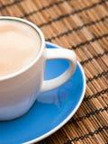 Taza del Cappuccino Fotos de archivo