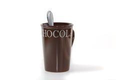 Taza del chocolate caliente Imagen de archivo