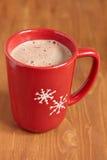 Taza del chocolate caliente Fotos de archivo libres de regalías