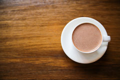 Taza del chocolate caliente Fotografía de archivo libre de regalías