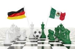 taza 2018 del fútbol de la representación 3D Imágenes de archivo libres de regalías
