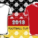 Taza 2018 del fútbol de Rusia Imagen de archivo