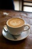 Taza del latte del café Imágenes de archivo libres de regalías