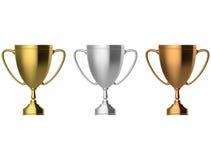 Taza del trofeo Imágenes de archivo libres de regalías