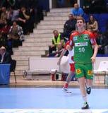Taza Dinamo Bucarest - SC Magdeburgo del EHF de los hombres Foto de archivo